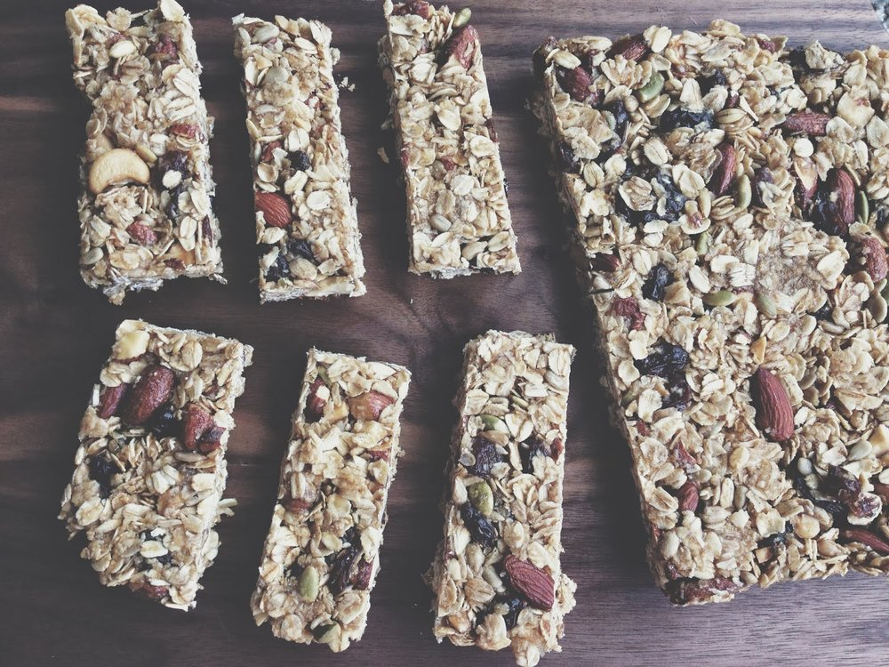 natural granola bars