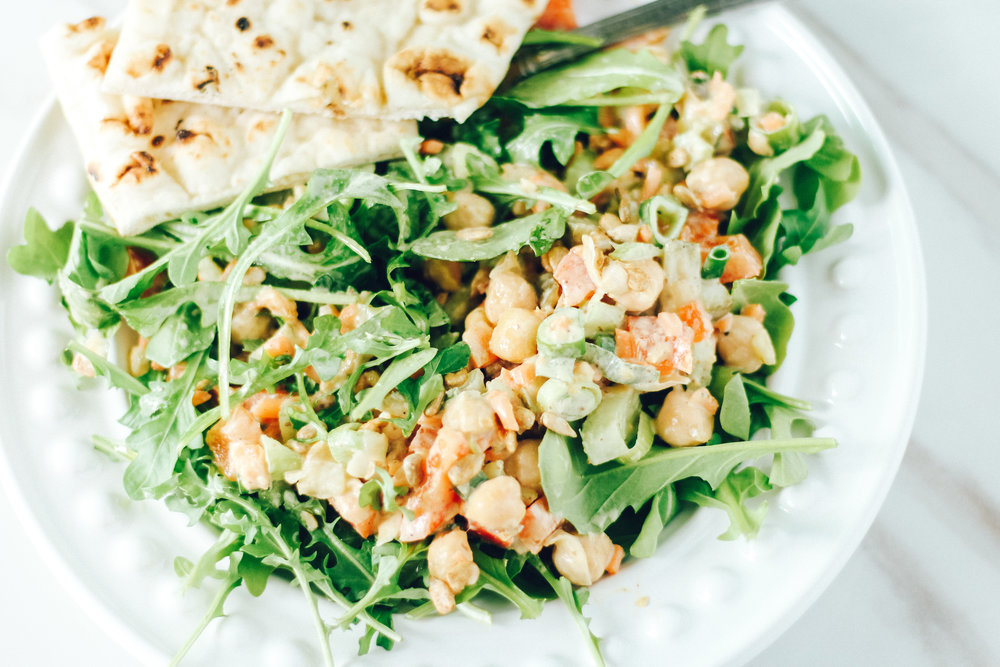 Chickpea Salad Recipes Meal Prep 3 ways Easy Teacher Lunch