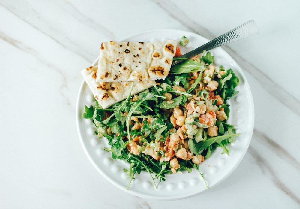 Chickpea Salad Recipes Meal Prep 3 ways Easy Teacher Lunch