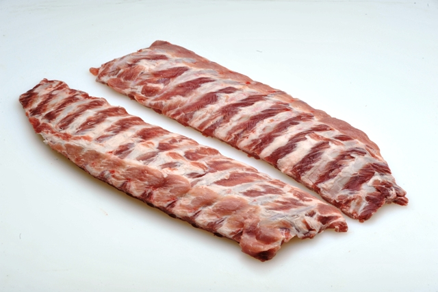 Back Ribs Can be sized and peeled. Packaging can be bulk or vacuumed packed.