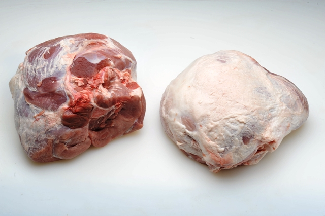 Skinless & Shank-less Hams  Can be sized.  Can be bulk or vacuumed packed.