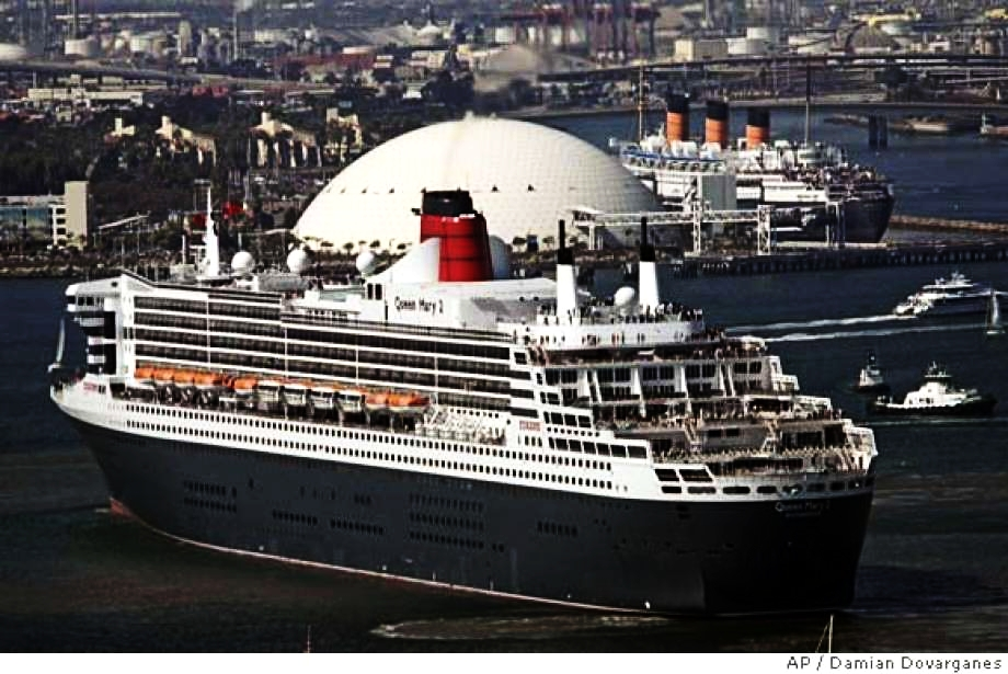 Award ceremony took place aboard the Queen Mary II at port in Greece
