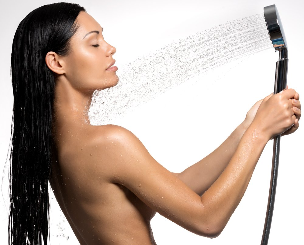 Works on any shower including handhelds.   -