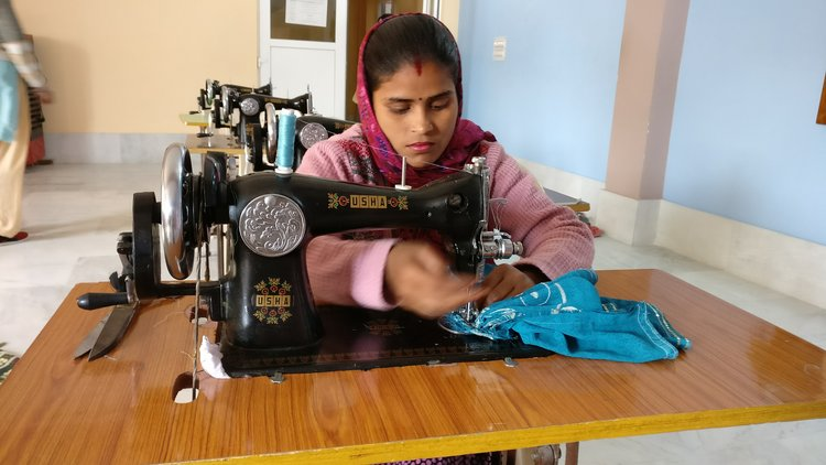 Mother MIracle's Women's Empowerment Program that gives vocational training to women from the community.