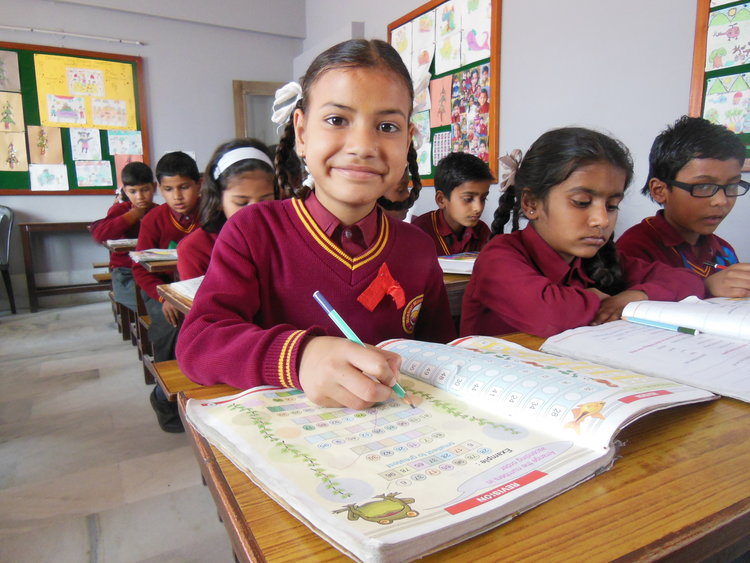Mother Miracle School provides highest quality education to exceptionally intelligent children from the slums of Rishikesh, India
