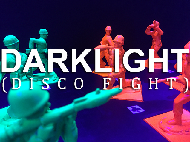 Escape Room Webster Outside the Box - Darklight Disco Fight -