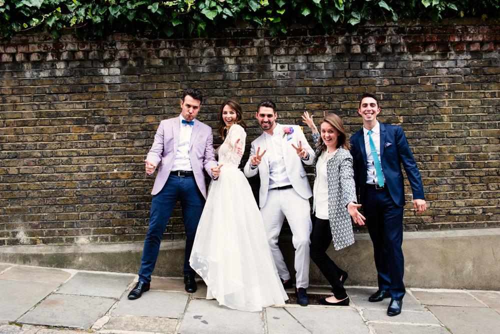 hi-lo hem printed wedding dress