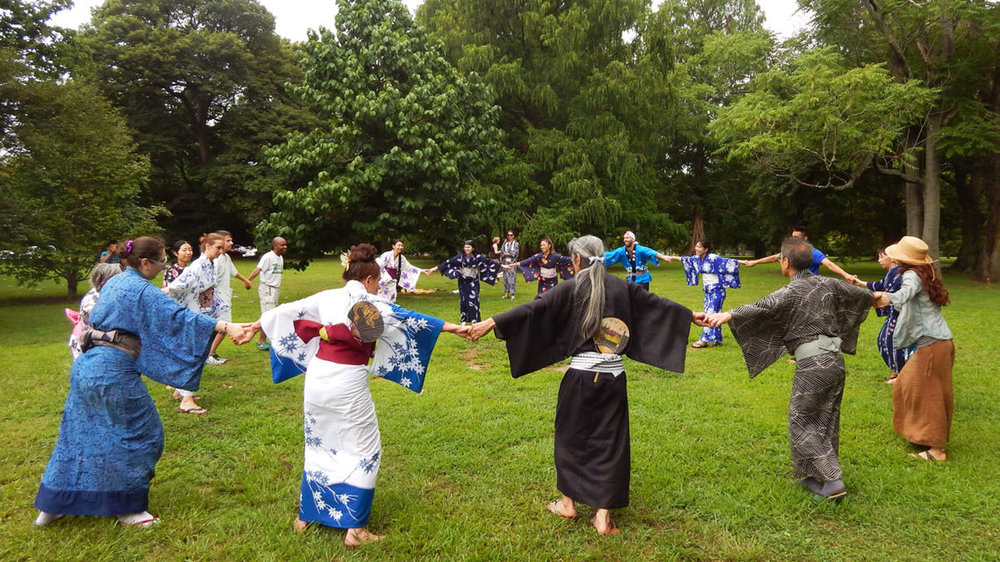 Philadelphia's annual Obon Festival at the Shofuso Japanese House and Garden