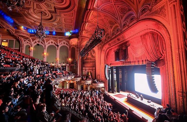 Captivated Audience 😍😍 from #adventofthevj during #nightonbroadway at @orpheumtheatrela 🔻 📷: @historictheatrephotos