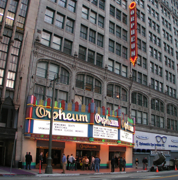 ORPHEUM THEATER   When planning began in 1923 for the Orpheum Theatre as the fourth and final house operated by the Orpheum vaudeville circuit in Los Angeles, who could have foretold the memories this magnificent venue would harbor over the years...  READ MORE