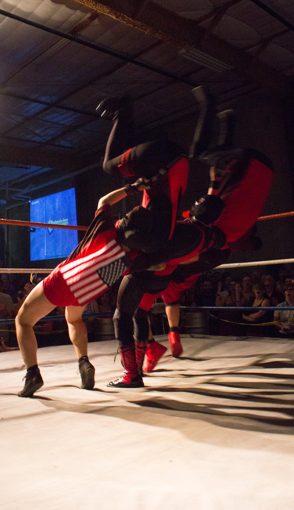 Party World Rasslin' - #DARKWAR - 2015