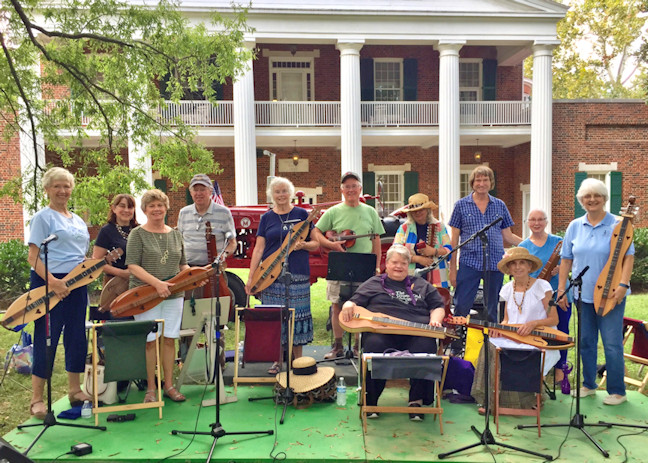 Above: a group of our members played at the Music and Molasses Festival, one of a number of venues the GODC played at in 2017.