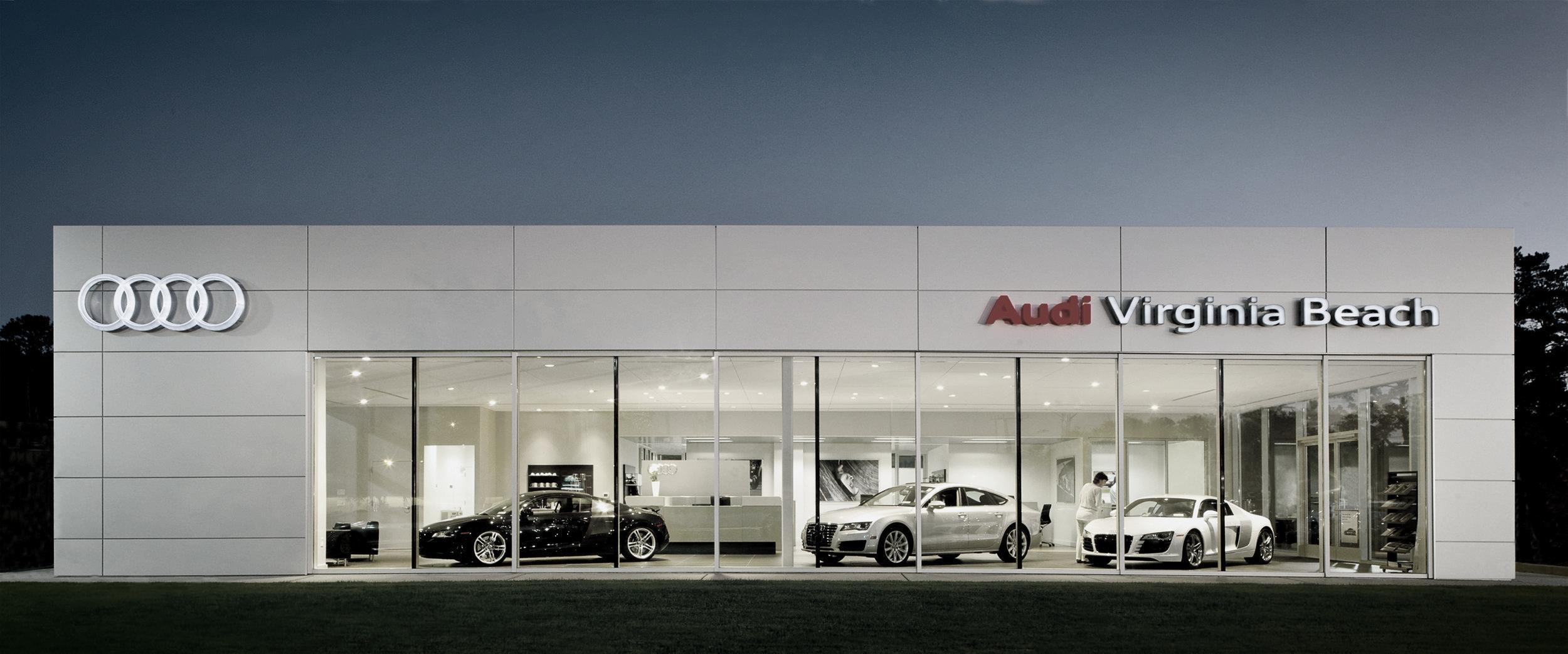 Checkered Flag Audi Lyall Design Architects - Audi virginia beach