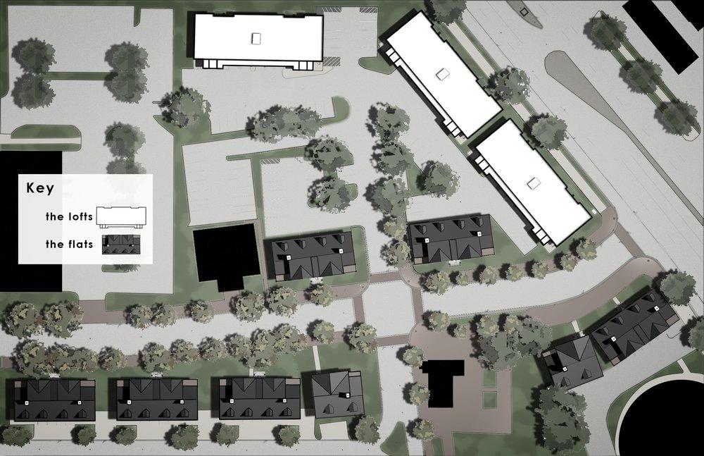 St. Paul's Place - Site Plan
