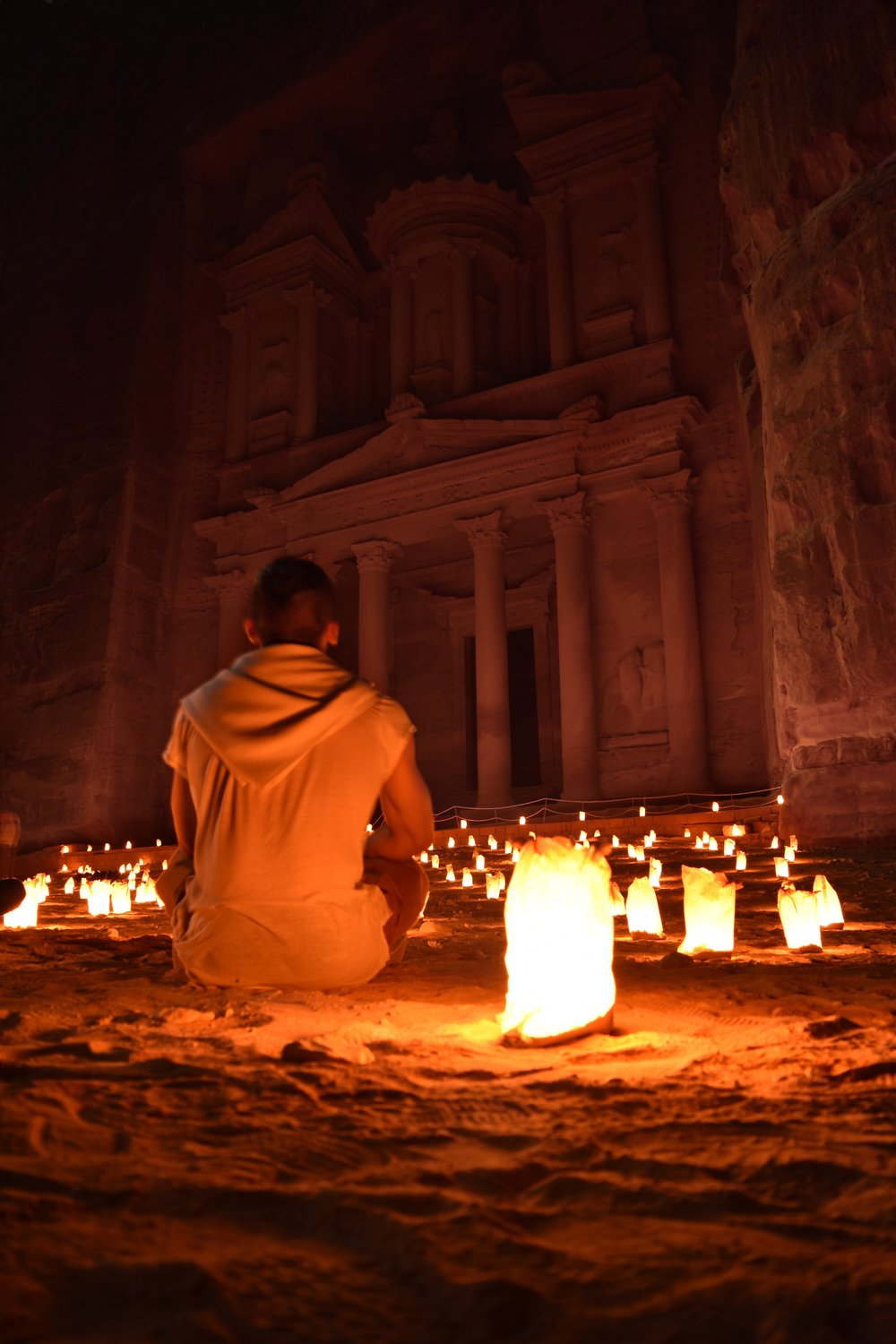 - Witness Petra By Night.