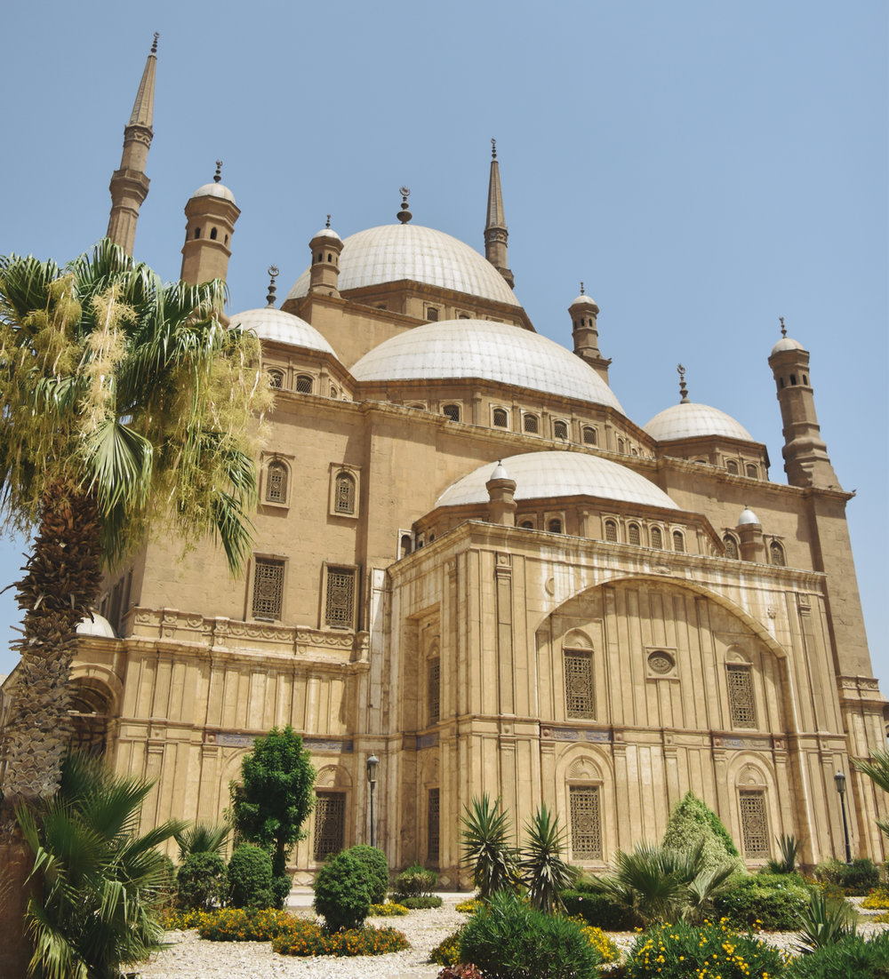 Muhammad Ali Mosque - Enjoy views of this architectural relic and the city of Cairo.