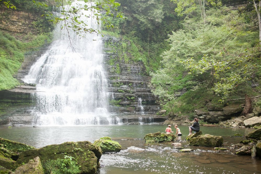 Image: Nancy Ray Photography | Waterfalls at Evins Mill, TN