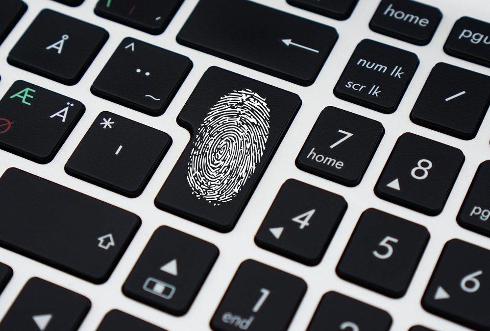fingerprint keyboard security