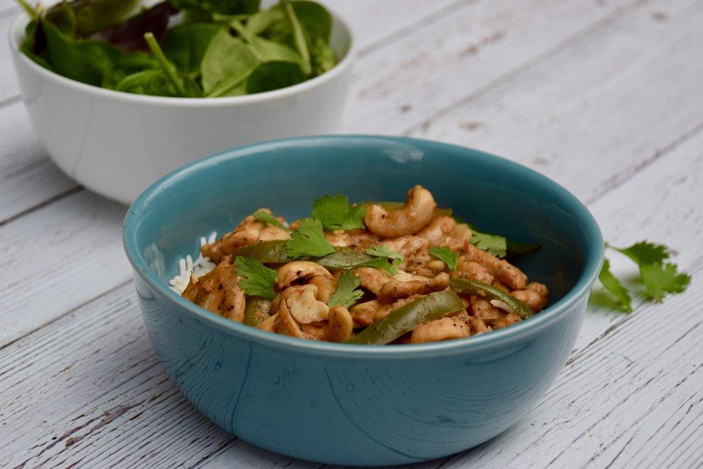10-Minute Cashew Chicken