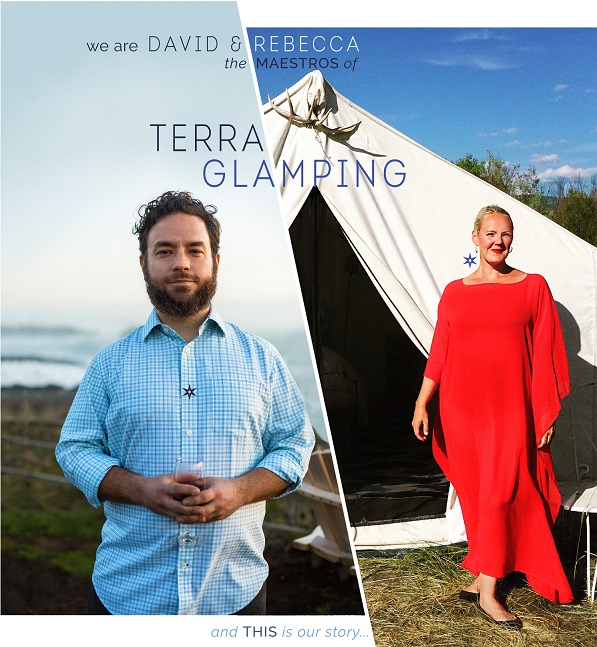 Terra Glaming Events- Rebecca Martin and David Levine