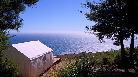northern california glamping camp - click here