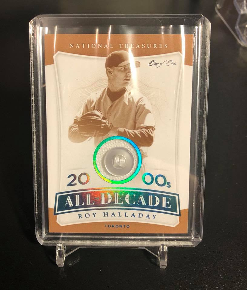 2017 Panini National Treasures Roy Halladay All-Decade Team 1/1
