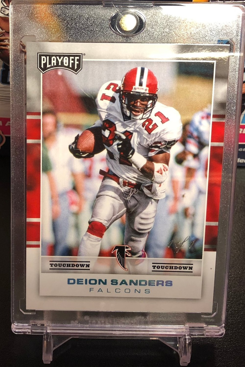 2017 Panini Playoff Deion Sanders Touchdown 1/1