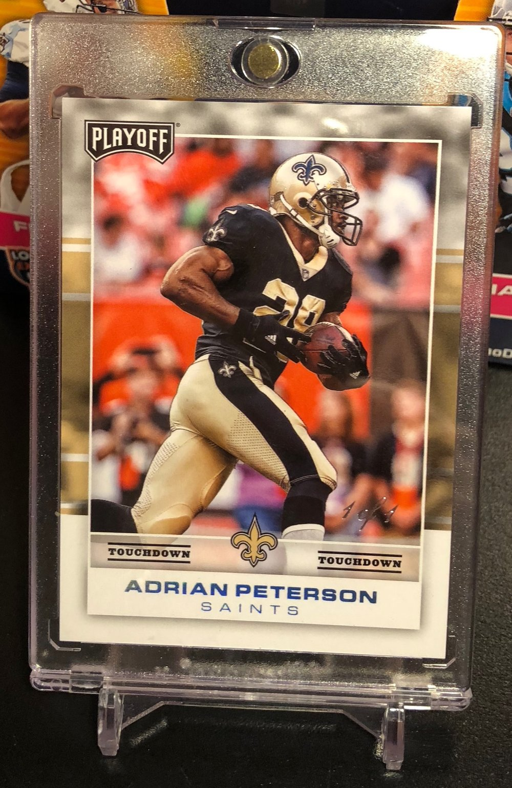 2017 Panini Playoff Adrian Peterson Touchdown 1/1