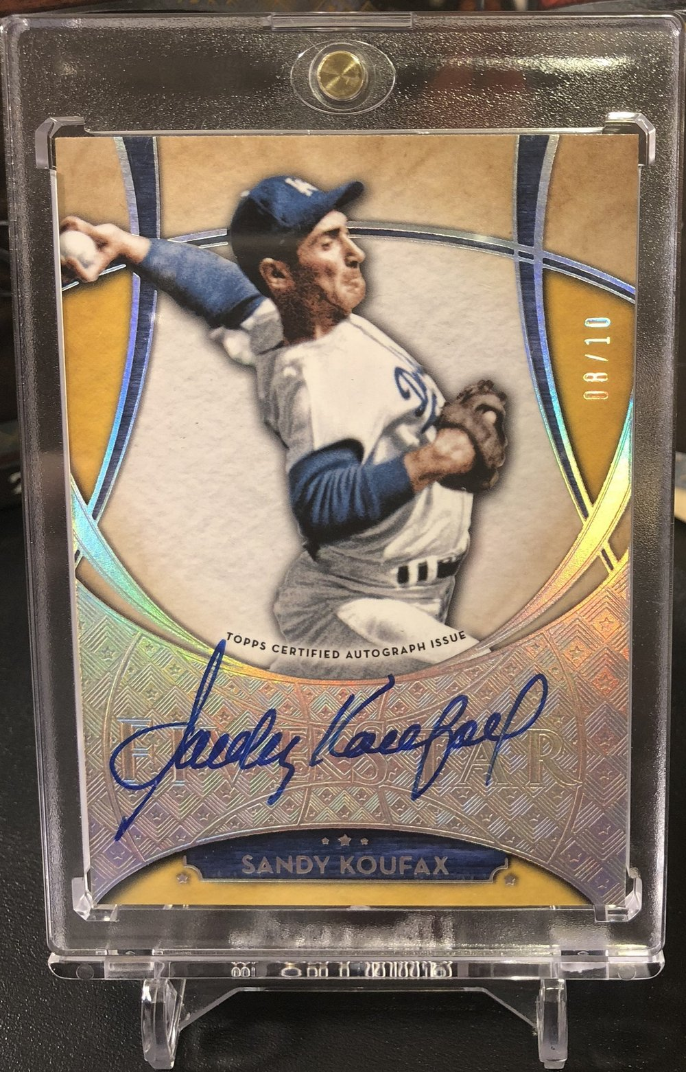 2017 Topps Five Star Sandy Koufax Auto /10