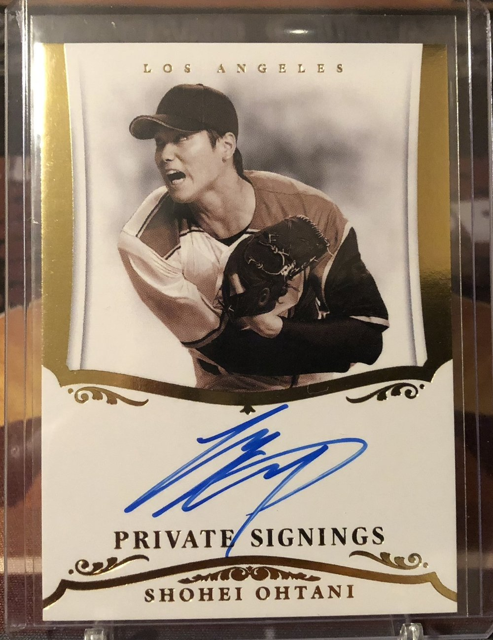 2018 Panini Diamond Kings Shohei Ohtani Private Signings Auto /50