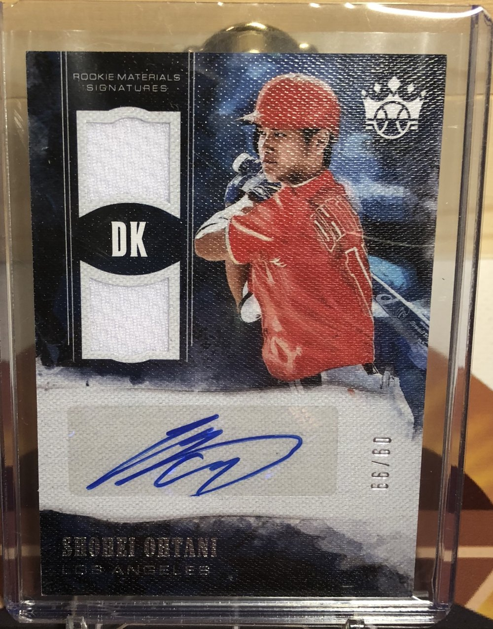 2018 Panini Diamond Kings Shohei Ohtani Rookie Materials Signatures /99