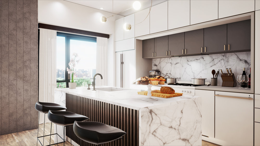 174 WEST STREET VR for boutique condominiums in Greenpoint with Manhattan views