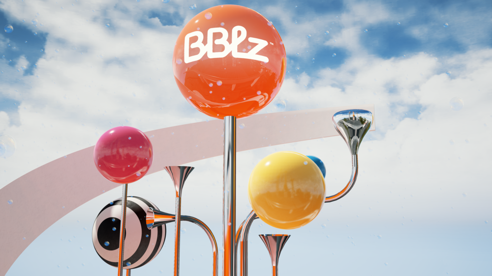 BBLZ at HERSHEY PARK   VR for an installation that features a new Pepsi beverage
