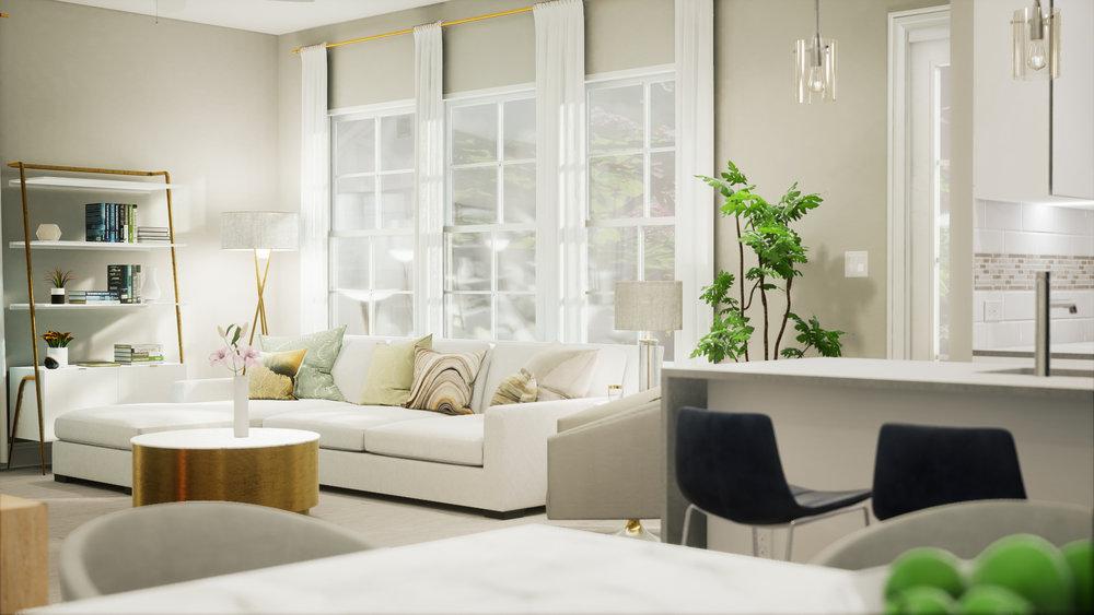 RIDGEVIEW VILLAS    VR for modern tudor homes