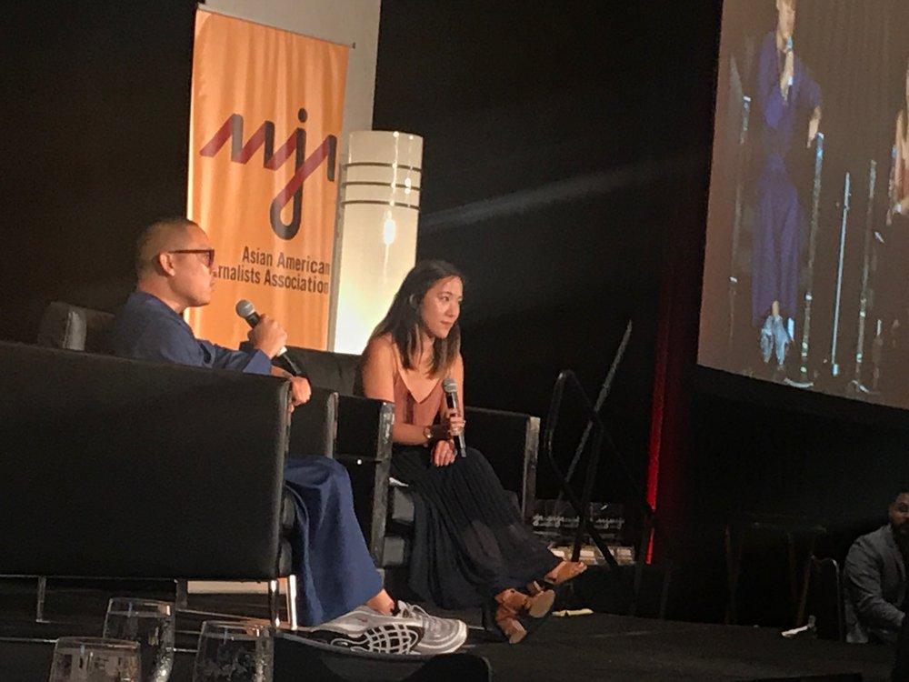Eddie Huang & Kat Chow - AAJA 2017 Gala