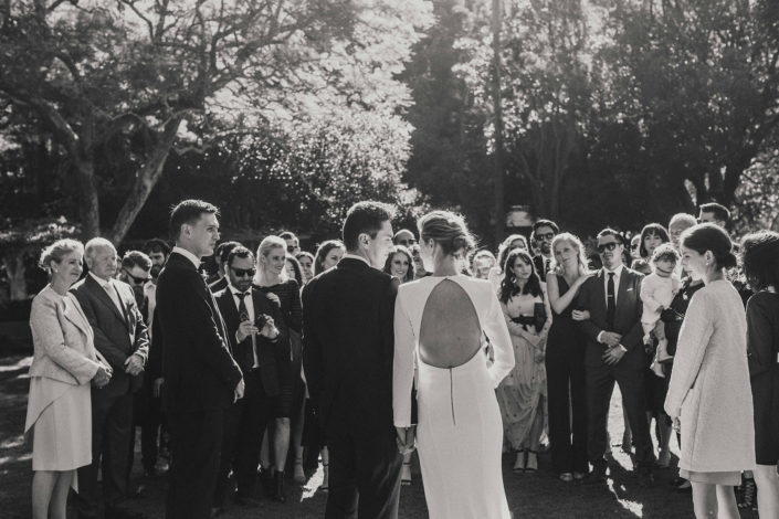 Photos By At Dusk PhotographyWedding Ceremony at The Chiswick