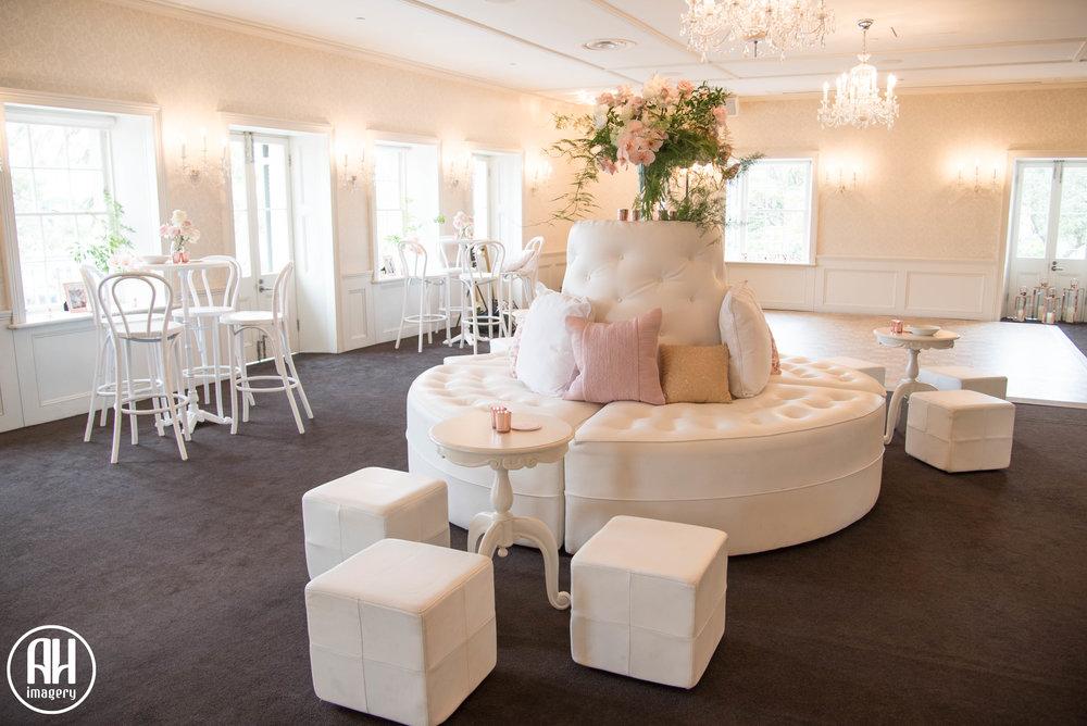 Wedding Set Up at Dunbar House