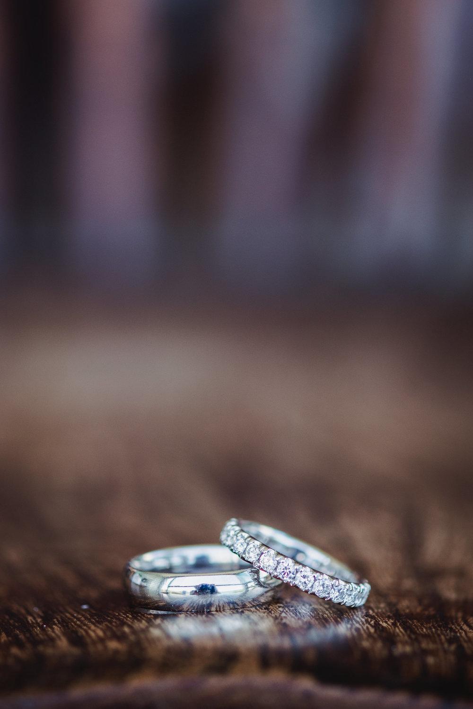 Wedding rings in Bondi Beach