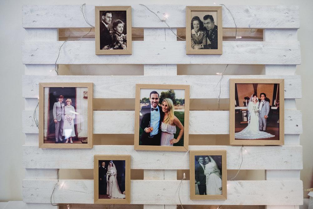 Decorations at North Bondi Surf Club Wedding Reception
