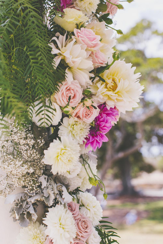 Wedding Flowers at Balmoral Rotunda
