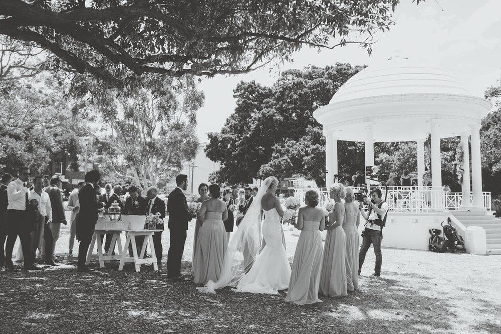 Guests at Balmoral Rotunda Wedding Ceremony