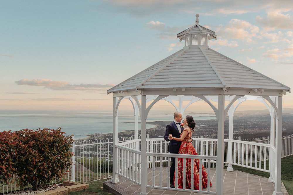 Wedding with a view at Panorama House Bulli