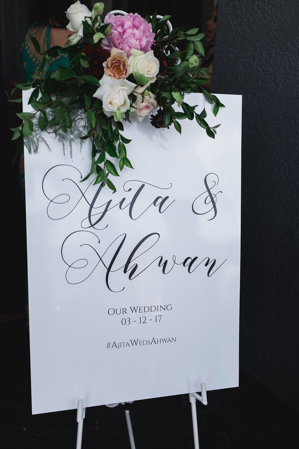 Welcome Wedding Sign at Panorama House Wedding