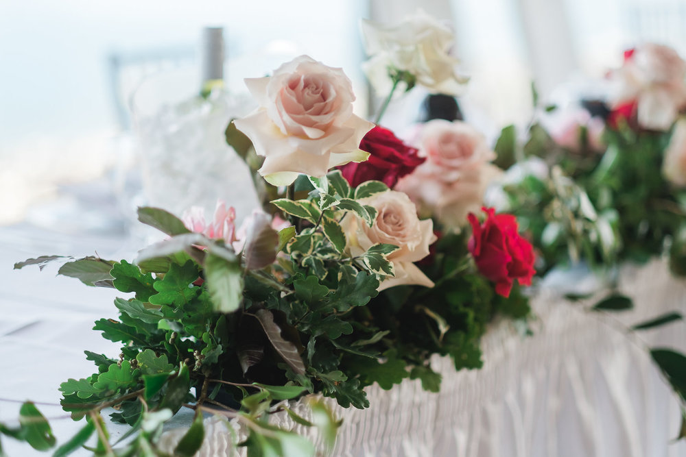 Wedding Decorations and Wedding Flowers at Panorama House Wedding