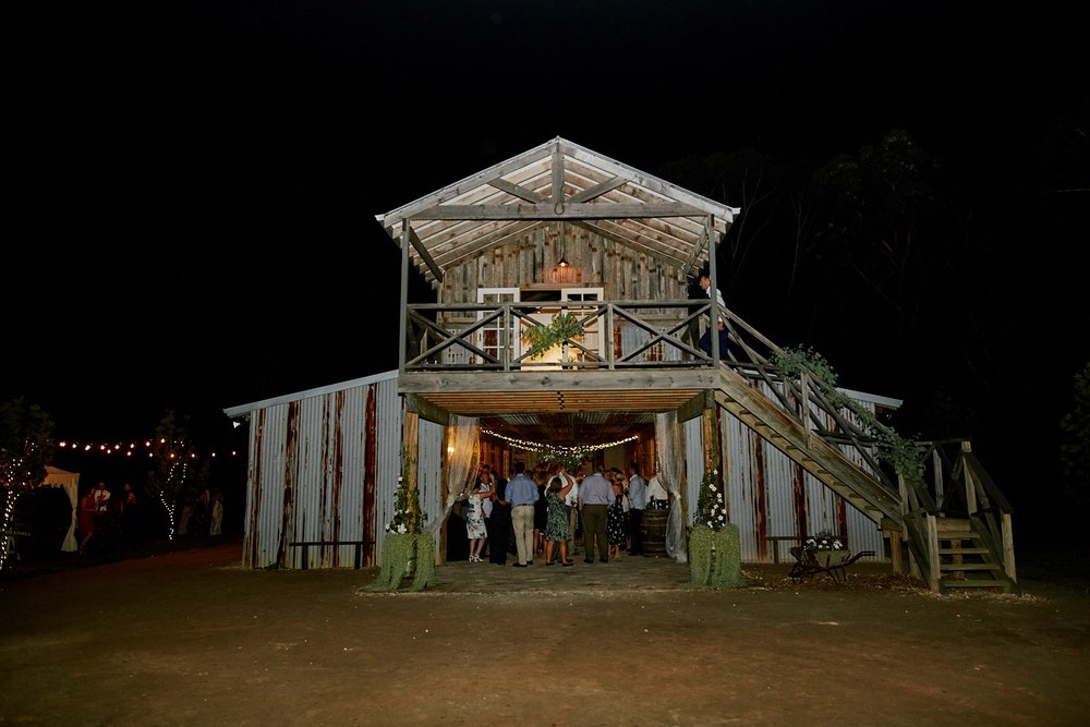 Photo of NSW Central Coast Wedding Venue The Stables of Somersby. Rustic barn wedding venue in the Central Coast.