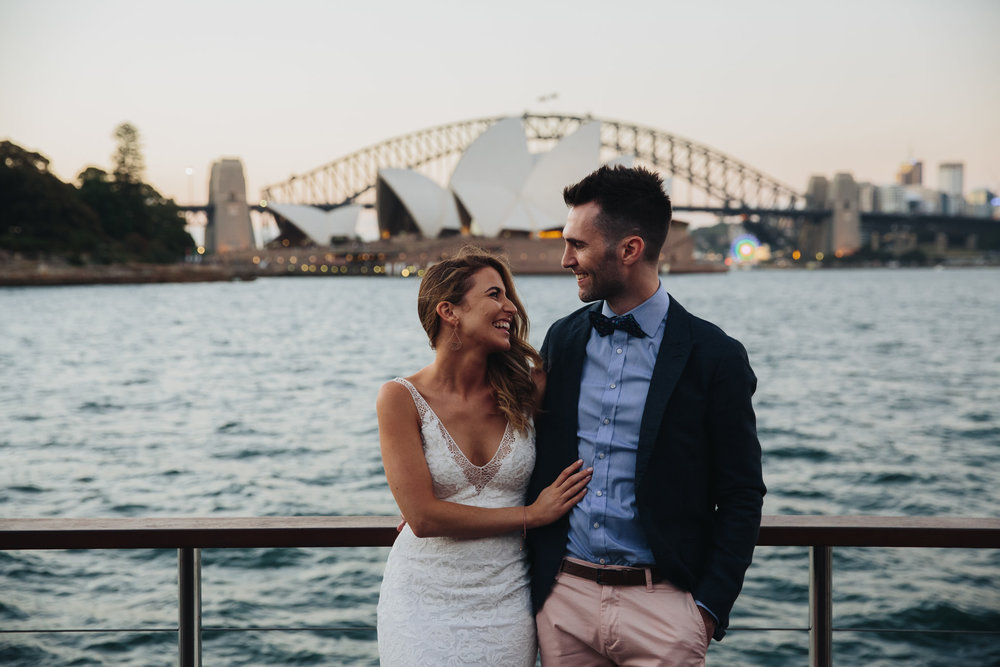 Lewis and Greta's Sydney Harbour Wedding