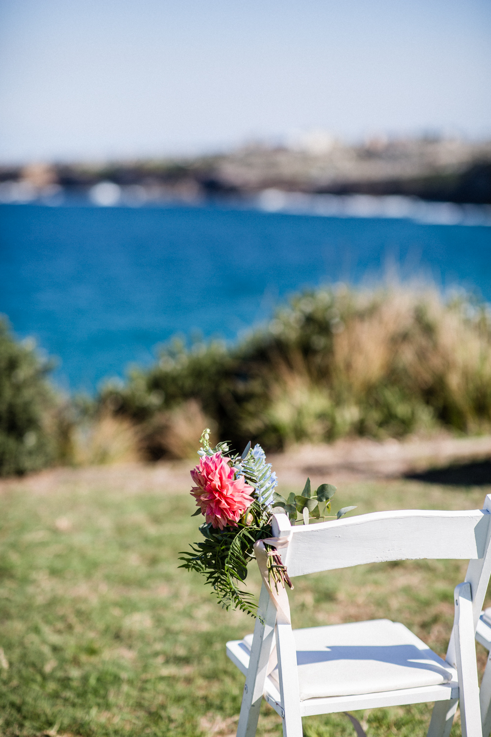 FLOWERS CHOSEN BY SYDNEY WEDDING PLANNER FOR BONDI BEACH WEDDING