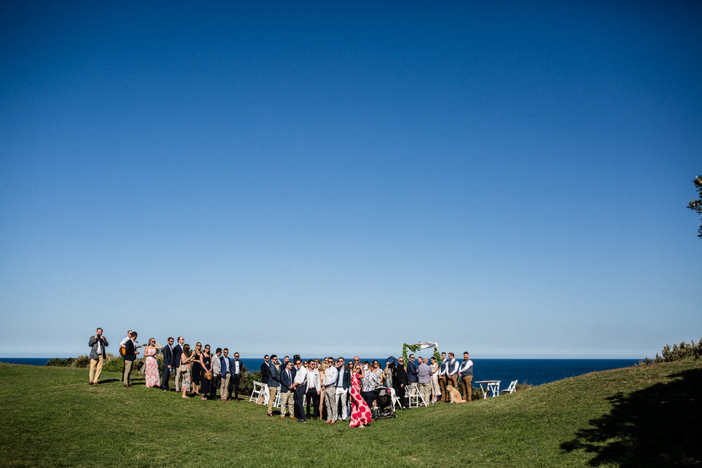 WEDDING AT MARKS PARK IN BONDI BEACH