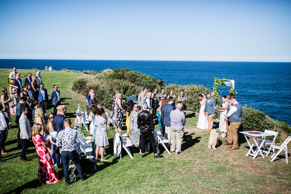WEDDING AT MARKS PARK BONDI BEACH SYDNEY WEDDING PLANNER
