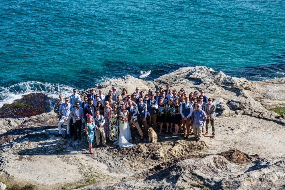 WEDDING AT BONDI BEACH